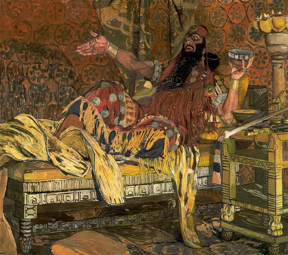 Третьяковская галерея картина руслан и людмила