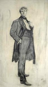 Portrait of Feodor Ivanovich Chaliapin. 1905