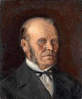 PORTRAIT OF VASILY NESTEROV. 1877
