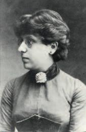 Rosalia Isidorovna Kaufmann. Odessa. 1888