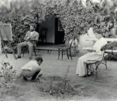 Leonid and Rosalia Pasternak with their son Boris. Odessa. 1896