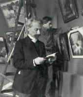 Leonid Pasternak and his son Alexander