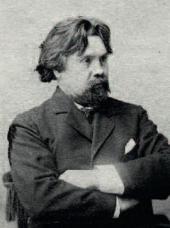 Vasily Surikov. Photo. Late 1890s