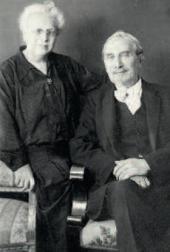 Leonid and Rosalia Pasternak. Berlin. 1930s