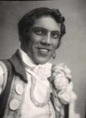 Nikolai Batalov in the role of Figaro