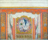 "Design of side curtain to ""Eugene Onegin"""