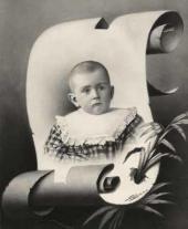 Yury Bakhrushin in childhood. 1897