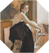 Valentin Serov. Female Model. 1905