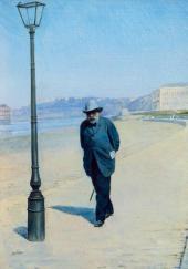 Pyotr Ivanovich Shchukin. Walking. 1900s
