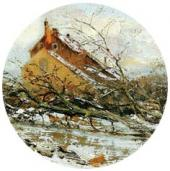 Winter. 1900s. A detail.