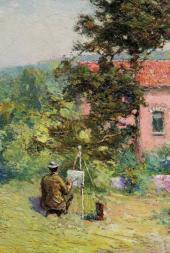 Country Lane. Boitsfort. Early 1920s