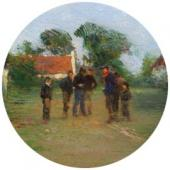 Boules. 1910s. Detail