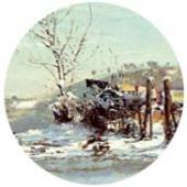 Trou-Louette in Winter. 1894. Detail