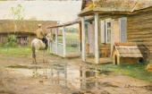 After Rain. Zhabovshchizna. Early 1900s