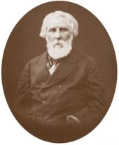 Ivan Turgenev. Photo. 1881