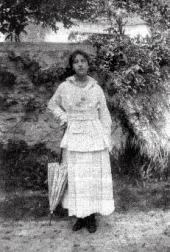 Vera Pokhitonova Bienaimé. Photo. Early 1920s