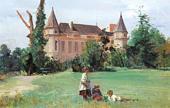 In a Castle Park, 1880