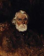 Portrait of Ivan Turgenev. 1882-1883