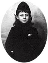 Boris Wulffert-Pokhitonov, the artist's son. Photo. Early 1900s