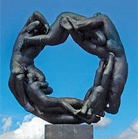 GUSTAV VIGELAND. THE MAN BEHIND THE VIGELAND PARK