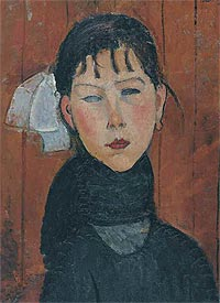 """Meeting Modigliani"" - at the Pushkin Museum of Fine Arts"