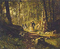 IVAN SHISHKIN'S OTHER GENRE. The story of a search - and its findings
