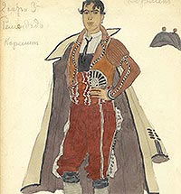 Alexander Golovin's Work for the Theatre and Alexei Bakhrushin