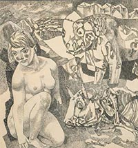 A Many-sided Genre: The Nude in Russian Graphic Art in the 20th Century