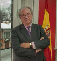 Greeting of Jose Ignacio Carbajal, the ambassador of Spain to Russia