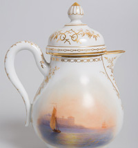 AIVAZOVSKY IN MINIATURE: Grand Duke Konstantin Nikolayevich's Tea Set