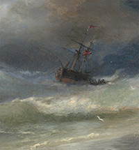 """THE AIVAZOVSKY """"BRAND"""" IN THE SURGING SEA OF RUSSIA'S ELITE"""