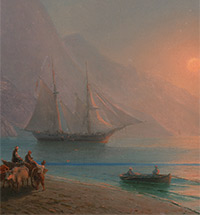 REPORTING AIVAZOVSKY in 19th Century Russian Periodicals