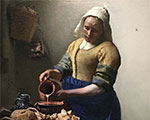 The sublime Vermeer at the Louvre along with his milkmaid and lacemaker