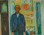 """""""Edvard Munch: Between The Clock And The Bed"""" at The Met Breuer"""