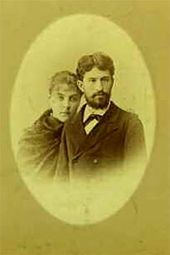Pyotr and Yekaterina Ge. 1883