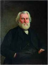 Portrait of Ivan Turgenev. 1871