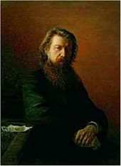 Portrait of Alexei Potekhin. 1876