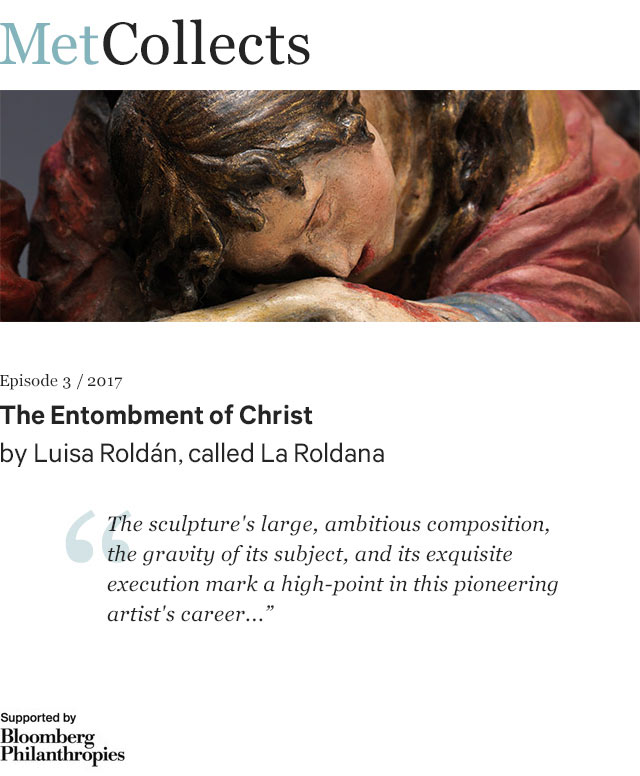 The Entombment of Christ by Luisa Roldán, called La Roldana