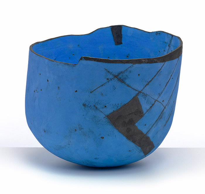 Gordon Baldwin. Painting in the Form of a Bowl, 1991
