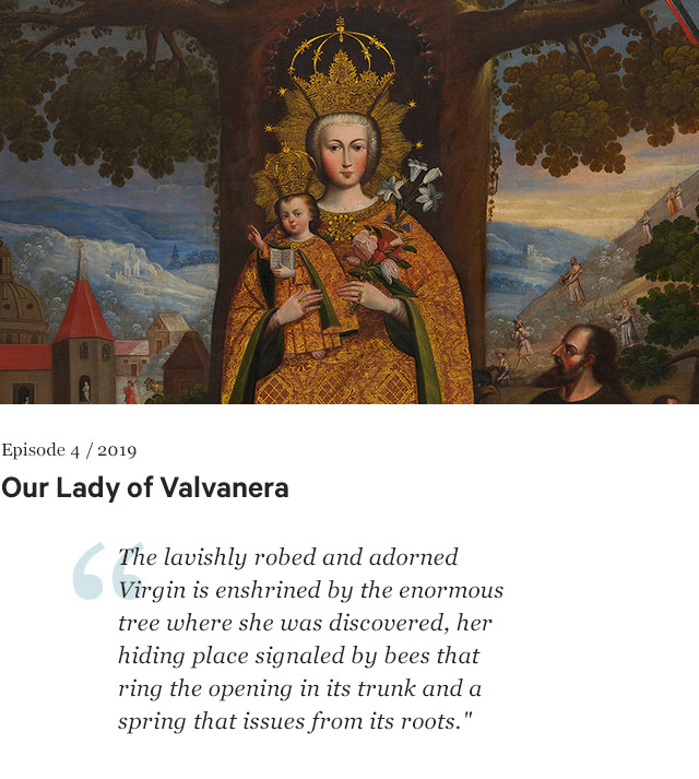 Our Lady of Valvanera by unknown Cuzco artist ca. 1770–80