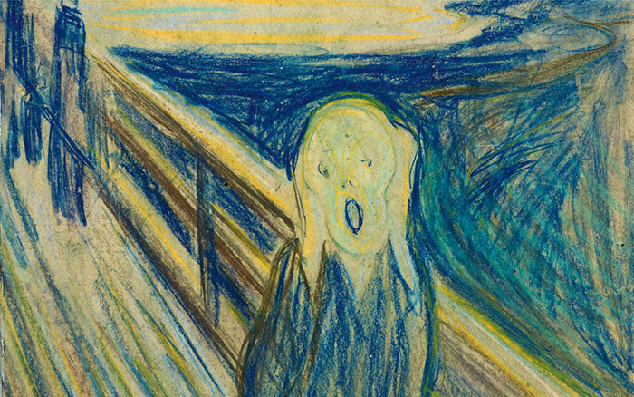 Edvard Munch now in the Tretyakov Gallery