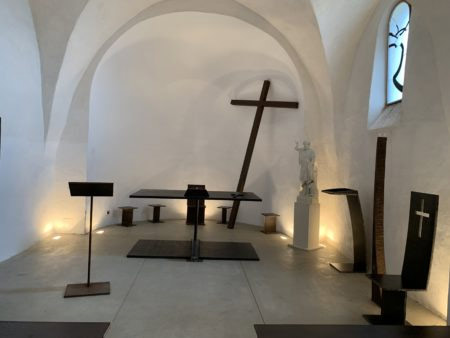 Bernar Venet: the artist whose work has been blessed by the pope