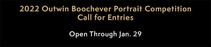 2022 Outwin Boochever Portrait Competition
