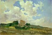 Clouds. Frascati. 1859