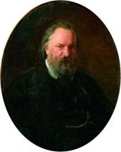 Portait of Alexander Herzen. 1867