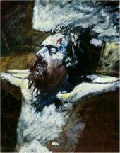 Head of the Crucified Jesus. 1893