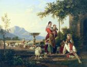 Sylvester SHCHEDRIN. Italian Shepherd's Family. c. 1822