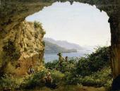 Sylvester SHCHEDRIN. Matromanio Grotto on the Island of Capri. 1827