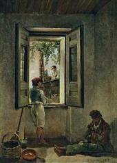 Sylvester SHCHEDRIN. Neapolitan Scene. 1827