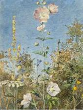 Flowers (Wild Mallow). 1881